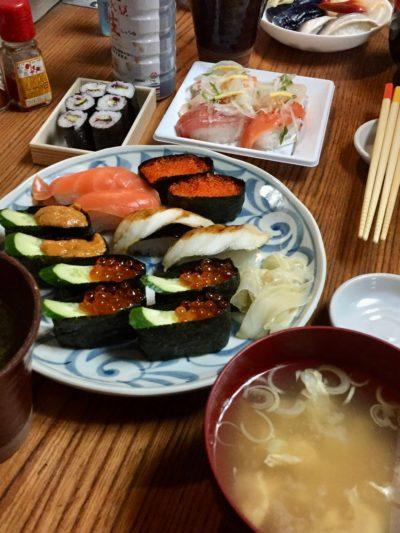 寿司パーティー